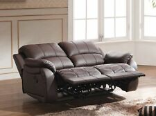 Voll-Leder Couch Sofa Garnitur Relaxsessel Fernsehsessel 5129-2-377