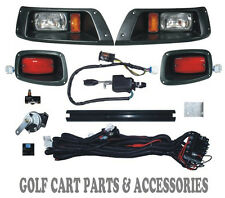 EZGO TXT Headlight & Tail light Kit Deluxe Street Package *New Golf Cart Part*