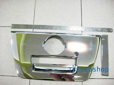 CHROME KEY HOLE TAILGATE HANDLE COVER TRIM FOR NISSAN NAVARA D40 2005-2013 V.4