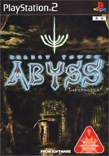 PS2 SHADOW TOWER ABYSS Japan F/S