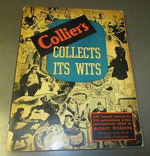 1941 Collier's Collects Its Wits SC 160 pgs VG+ REVIEW COPY 339 Cartoons