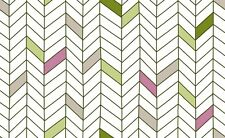 By 1/2 Yard Quilting Treasures Monterey Broken Chevron Olive Low Volume Fabric