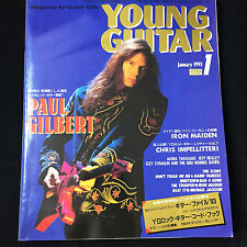 Young Guitar Magazine January 1993 Japan / Paul Gilbert Chris Impellitteri
