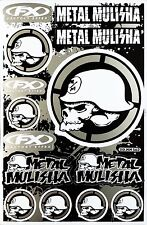 Metal Mulisha Rockstar Energy Sticker Bike MTB Motocross Vinyl DecaI Graphic T24