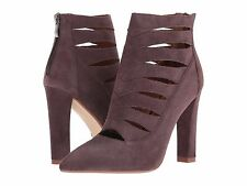 Steve Madden Womens UK 5 EU 38 Grey Cardii Bootie Suede Leather Ankle Boots NEW