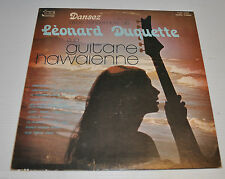 LEONARD DUQUETTE: Guitare Hawaienne LP Record Hawaii