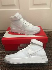 Nike Mujeres Air Force 1 Flyknit Zapatillas Estilo Zapato 820256 Gimnasio Fitness Cool
