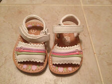 Teeny Toes girls sz 1 sandals baby girl summer sandals spring slip on CUTE