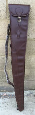 DEMO PU LEATHER SHOTGUN SLIP, SHOT GUN SLIP, FULL ZIP GUN CASE,THICK LINING ,311
