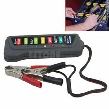 12V High Quality LED Digital Battery Alternator Tester For Car Motorcycle Trucks