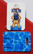 Luggage tags scuba diving equipment snorkel log some bottom time christmas gift