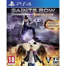 Saints Row IV Re-elected And Gat Out of Hell PS4 Game Brand New