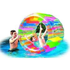 """Water Wheel - Giant Inflatable Swimming Pool Water Wheel Toy (49.2"""" X 33"""") New"""