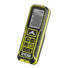 Ryobi LASER DISTANCE MEASURER 30m For Both Area & Volume Calculations Belt Clip
