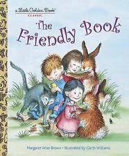 Little Golden Book: Friendly Book by Margaret Wise Brown NEW Hardcover