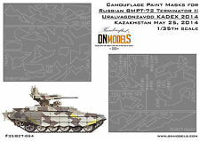 BMPT-72 Terminator II Splinter Camo Paint Masks 1/35 KADEX 2014 Arms Expo