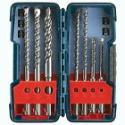 Bosch HCK001 7pc SDS PLUS Rotary Hammer Drill Bit Set Carbide Germany Bulldog
