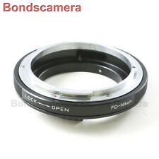 Macro AF Confirm Canon FD Mount Lens to Nikon F Camera Adapter D750 D3200 D5200