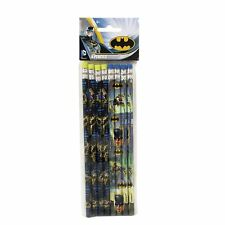 Batman DC Comics Children's Birthday Party 8 x Favor Pencils Loot Treat Gift Kid