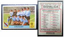 Figurine Calciatori Stikers Panini MEXICO 70 URUGUAY 1970 Mint Unused BISVALIDA