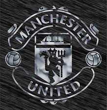 Stencil Manchester United logo Football Reusable Pattern Wall Art Sport