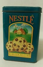 Nestle Toll House Morsels Limited Edition Canister Cookies Vintage Repro Tin