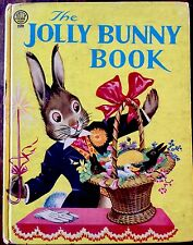 THE JOLLY BUNNY BOOK ~ Vintage Children's JOLLY Book ~ Avon Publications