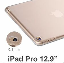 Ultra Thin Transparent Soft Skin TPU Clear Case Cover for iPad Pro Tablet 12.9""