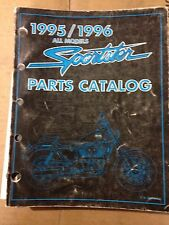 1995/1996 HARLEY OFFICIAL FACTORY PARTS CATALOG  MANUAL  ALL XL SPORTSTER MODELS