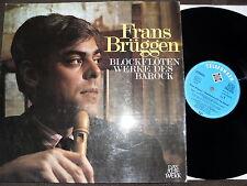 Frans Brüggen - Blockflöten Werke des Barock, Vinyl, Germany , vg++