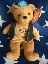 HRC Hard Rock Cafe Lisbon Lissabon Punk Bear Mohawk 2011 Blue Hair Herrington