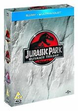 JURASSIC PARK Trilogy Complete Movie Bluray Collection Boxset Part 1 2 3 + UV HD