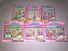 SHOPKINS HAPPY PLACES HOME COLLECTION LOT OF 6 WELCOME & DECORATORS PACKS *NEW*