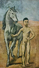 Boy leading a Horse ( Mini) by Pablo Picasso