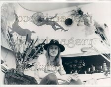 1972 Koos Swart Son of Netherlands Minister of Health at His Home Press Photo