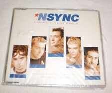Nsync I Want You Back Ireland CD Single W/Exclusive POSTER & Bonus Track