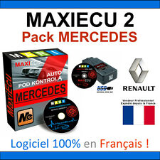 MaxiECU 2 + MPM-COM - Valise Diagnostic MERCEDES BENZ - MB STAR C3 C4 Diag OBD2