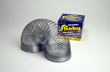 *NEW IN BOX* THE ORIGINAL POOF METAL SLINKY - WALKING SPRING TOY