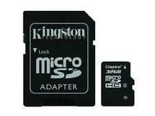 KINGSTON MICRO SD MICRO SDHC C4 32GB 32G 32 G CLASS 4 FLASH MEMORY CARD NEW