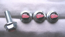 Detroit Red Wings License Plates Screws, Detroit Red Wings Logo Plate Screws,