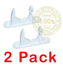 2 PACK - NEW! WH10X10004 WASHER DOOR STRIKER FOR GE HOTPOINT