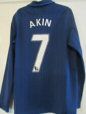Arsenal 2009-2010 Away Akin 7 on rear Football Shirt Size Medium /39612