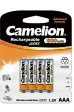 4 x CAMELION Micro Ni-MH AAA 900mah 1,2v Accu Batterie pour philips: Onis: 200