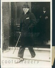 1929 Crown Prince Frederick of Denmark In London England Press Photo