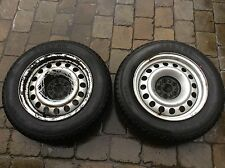 Dispatch Scudo Expert Euro Cab Taxi winter snow tyres & Rims 195 65 15 8mm
