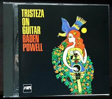 Baden Powell – Tristeza On Guitar Cd Rare Made in Germany NM/NM