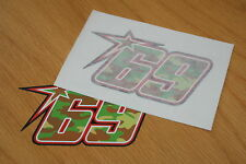 Nicky Hayden Camo 2013 Race Number - (Pair)