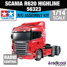 56323 Tamiya Scania r620 6x4 Highline 1/14th R/C RC KIT DI MONTAGGIO
