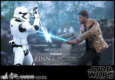 Finn and First Order Riot Control Stormtrooper Set Hot Toys Sideshow Star wars