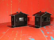 German Dresden Paper Black Tiny Witch House Halloween